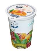 Биойогурт с персиком и маракуйей 2,5%, 380г фото