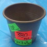 Стакан для рассады 380 мл. 9х7х8 фото