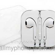Наушники для мобильного телефона Apple iPhone 5 / 5C / 5S / 6 / 6 Plus Earpods white фото