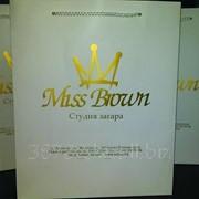 Пакеты Бумажные с Вашим логотипом, Нанесение логотипа фото