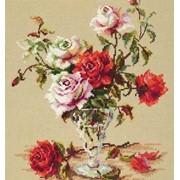 Набор для вышивания крестом Мелодия любви фото