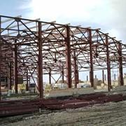 Изготовление металлоконструкций для зданий, Строительство из металлоконструкций и сэндвич-панелей фото
