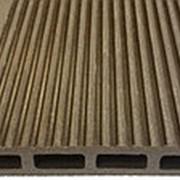 Террасная доска из ДПК Darvolex (шовная) (2,35х15х400(600)см) фото
