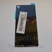 Крышка задняя черная для Sony Xperia Z3 D6603 | D6643 | D6653 3588 фото
