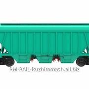 Вагон-хоппер для перевозки сыпучих грузов 19-1273 фото