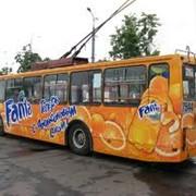 Размещение рекламы на внешних носителях, на транспорте Чернигов фото