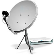 Установка, наладка спутникового ТВ фото