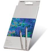 Карандаши цветные Marco Raffine 12 цветов, шестигранные фото