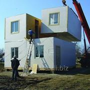 Дом по канадской технолигии, модульные дома из сип панелей, панельный дом, домокомплект фото