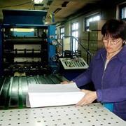 Резка бумаги на формат: А2, А3, А4, А5 и др. фото
