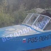 Стекло в рамке с калиткой для выхода на нос Казанка-1 фото