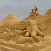 Доставка песка. фото