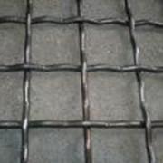 Сетка рифленая для просева на грохота 10 мм фото