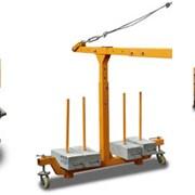 Люлька строительная ZLP-630 корзина 4м подъём 100м фото