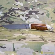 Нож Бичак художественное оформление дамаск (90200) фото