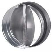 Обратный кллапан для вентиляторов круглого сечения Бабочка Shuft RSK 315 фото