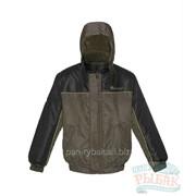 """Куртка """"Зенит"""" цвет хаки+черный, тк.Оксфорд фото"""