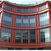 Алюминиевые окна, двери,перегородки.Фасадное остекление. фото