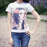 Печать на футболках, печать на ткани, печать на изделиях из натуральной ткани,печать на текстиле фото