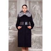 Пальто зимнее с натуральным мехом фото