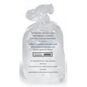 Пакет для утилизации медицинских отходов 700*800мм, 60л Класс А, 22мкм (100шт/рул) фото