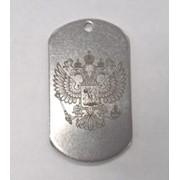 Армейские жетоны с гравировкой фото