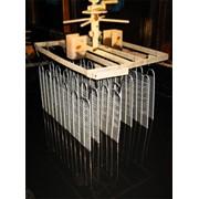 Окраска металла и металлоизделий методом окунания (покрытие водорастворимой эмалью) фото