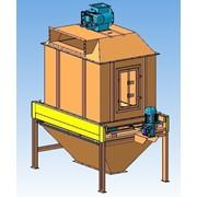 Охладитель гранул противоточный (колонна охлаждения). фото