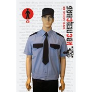 Рубашка охранника на поясе фото