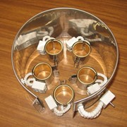 Нагревательные элементы для выдувных машин, термопластавтоматов (ТПА), экструдеров, оборудования для производства пластиковых бутылок фото