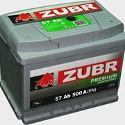 Батарея аккумуляторная свинцово-кислотная ZUBR Premium фото