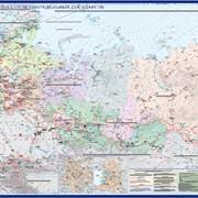 Карта Электроэнергетики России фото