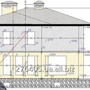 Съёмка фасадов для целей проектирования навесных и светопрозрачных конструкций фото