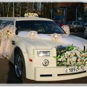 Изготовление украшений для свадебных кортежей фото