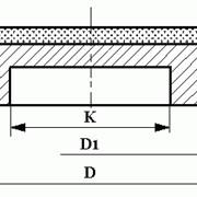 Круги алмазные шлифовальные плоские на металлической связке формы 6А2Т фото