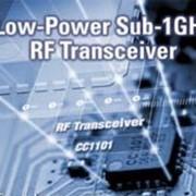 Трансивер. CC1101 — маломощный РЧ-трансивер для частот до 1 ГГц фото