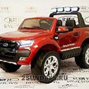 Детский электромобиль NEW FORD RANGER 4WD (ЛИЦЕНЗИОННАЯ МОДЕЛЬ) вишневый глянец фото