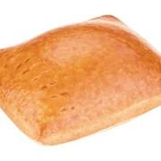 Пирожок домашний с яблочно-брусничной начинкой 50г фото