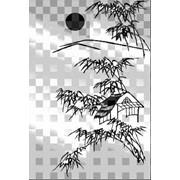 Обработка пескоструйная на 2 стекло артикул 101-10 фото