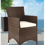 Мебель для баз отдыха, кресло Аманда - мебель для дома, мебель для сада, мебель для ресторана, мебель для бассейна фото