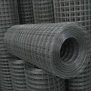 Сетка сварная 12.5х50х1,80 кладочная в рулоне оцинкованная фото