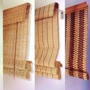 Жалюзи бамбуковые римские фото