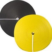 Лента текстильная 75мм 9000кг желтый фото