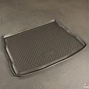 Коврик в багажник Kia Ceed 2007-2012 хэтчбек (полиуретановый с бортиком) фото