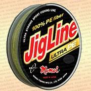 Плетенка JigLine Ultra PE 150 м, цвет - хаки диаметр 0,12 мм тест 9,0 кг фото