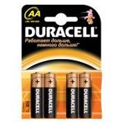 Батарейка Duracell AA / LR6 4бл. элемент питания фото