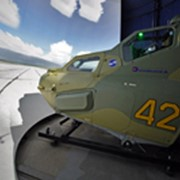 Комплексные тренажеры экипажа вертолета фото