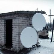 Установка спутниковой системы фото