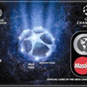 Услуги по обслуживанию платежных карт MasterCard UEFA Champions League фото