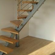 Лестница-каркас лестницы металлоизделия фото